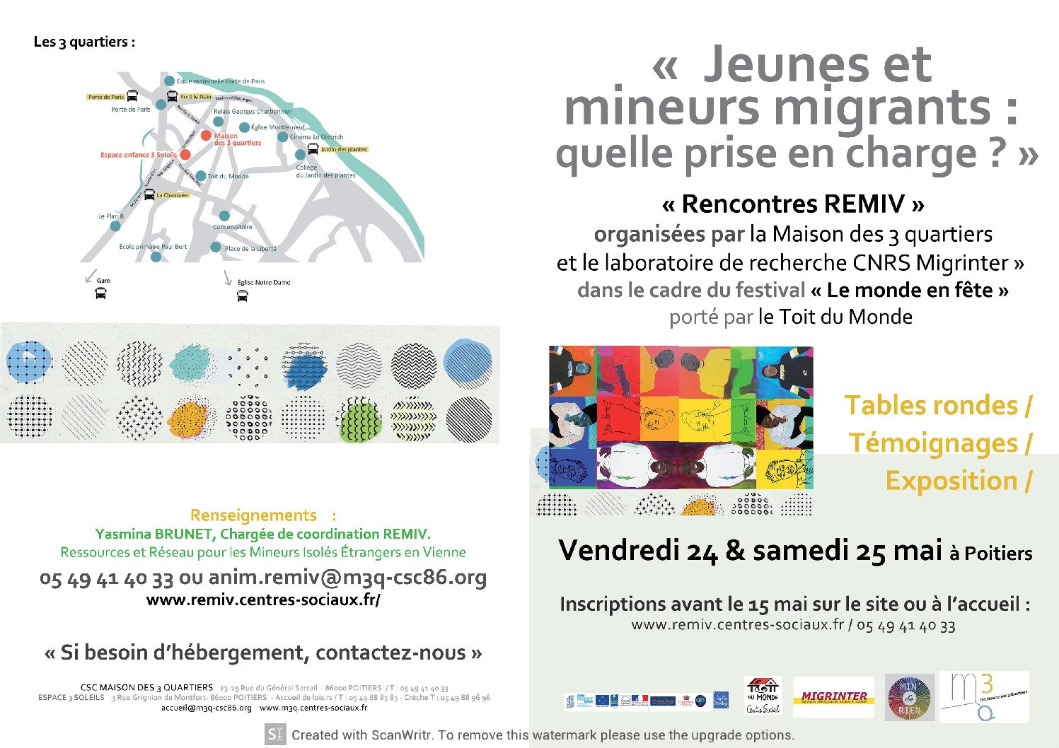 Rencontres REMIV- 24-25 mai 2019- Poitiers
