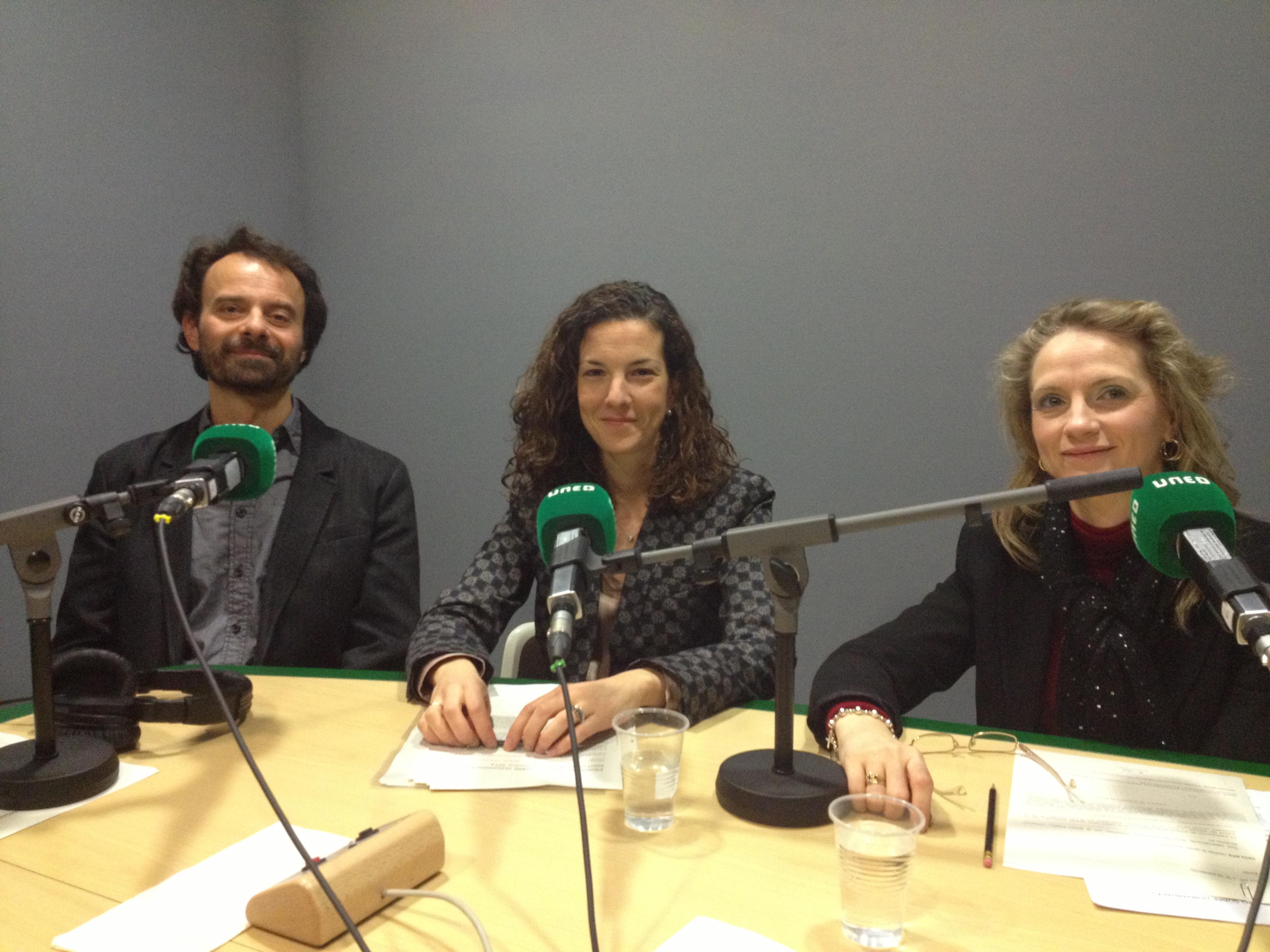 grabación radio Humanidades Digitales
