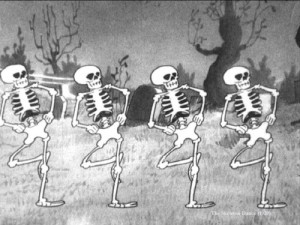skeleton-dance