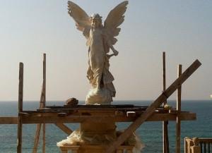 Angel under constraction Jaffa