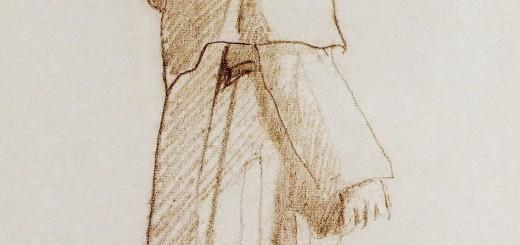Édouard_Manet_-_Moine_de_profil