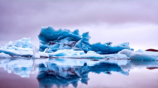 Iceberg islandais