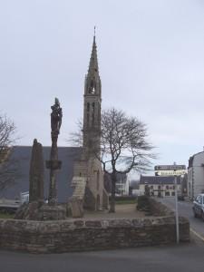 Église et monument aux morts