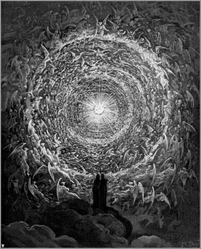 Illustration de l'enfer de Dante par Gustave Doré