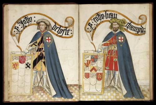 Sir John de Lisle y sir John Beauchamp