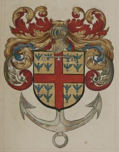 Armas del Almirante Matthieu de Montmorency