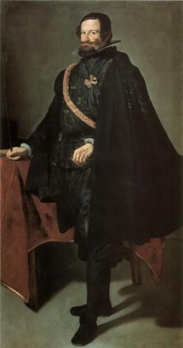 El Conde-Duque de Olivares, por Velázquez (Museo del Prado, Madrid)