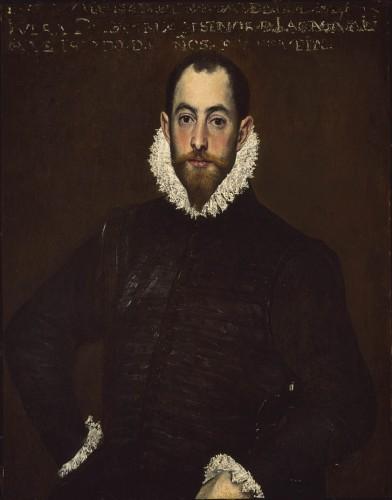 El Greco: Retrato de don Alonso Martínez de Leyva (c. 1580). Museum of Fine Arts, Montréal.