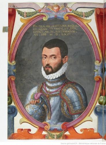 Carlo Maggi, en 1578 (BNF)