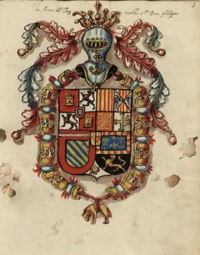 Armas de Felipe II