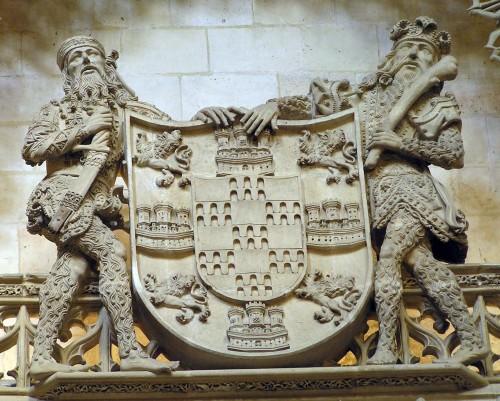 Armas de los Fernández de Velasco, Condestables de Castilla (Catedral de Burgos)