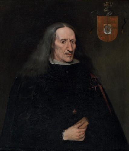 Don José Pellicer de Tovar, por Carreño de Miranda (Biblioteca Nacional)