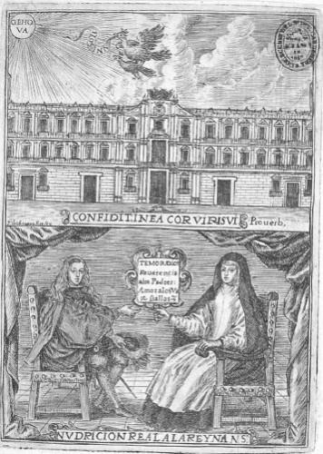 La educación de Carlos II por Mariana de Austria (Pedro de Obregón, 1671)