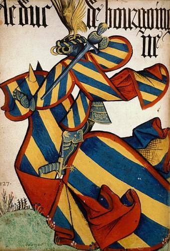 El duque de Borgoña, en el Gran Armorial del Toisón de Oro