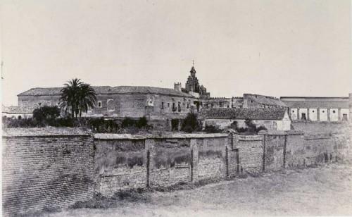 San Isidoro del Campo, tumba de Guzmán el Bueno, por Charles Clifford (1862). BNE, Madrid