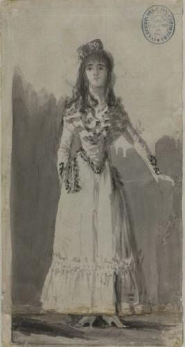 Pilar Teresa Cayetana de Alba, por Goya (BNE)