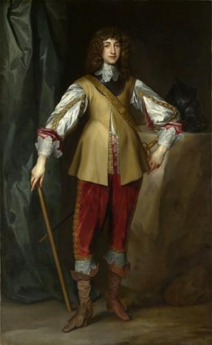 Estudio de Anthony van Dyck, Príncipe Rupert del Rhin, conde Palatino