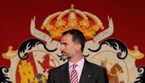 Su Majestad el Rey el pasado viernes, en la Real Maestranza de Caballería de Sevilla