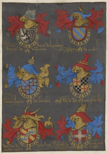 Una página del armorial