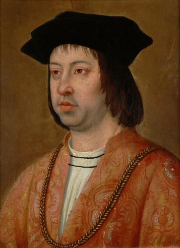 Michel Sittow: Fernando el Católico. Gemäldegalerie, Vioena