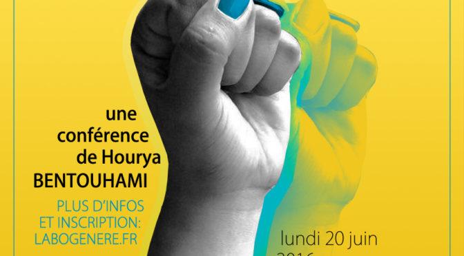 """Conférence de Hourya Bentouhami """"Pour un féminisme décolonial"""""""