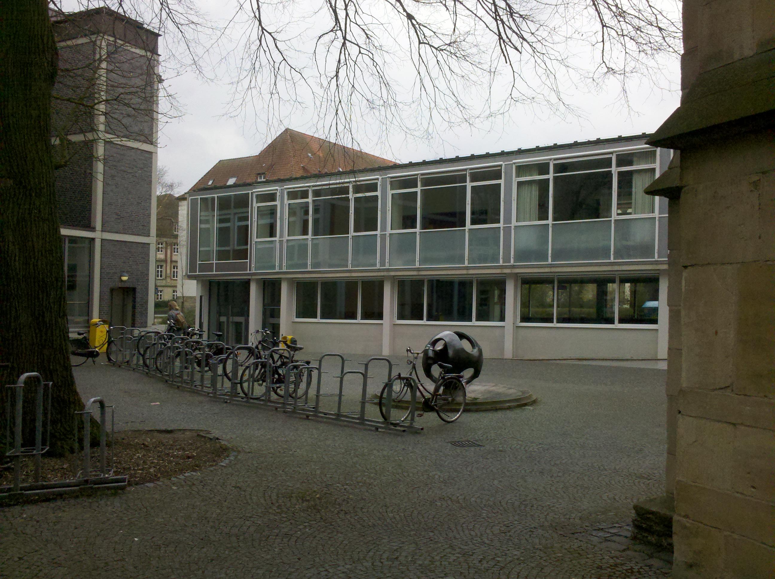 Our workshop venue: Johannisstr. 4