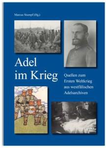 Cover des neuen Bands Adel im Krieg