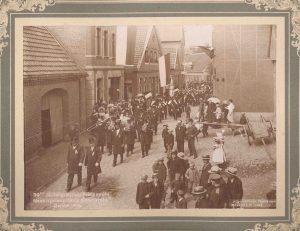 Stadtarchiv Greven, Dep. 03-26, 30. Stiftungsfest des MGV Concordia Greven, 1905