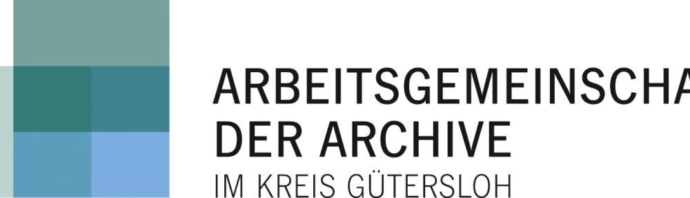 (Logo der Arbeitsgemeinschaft der Archive im Kreis Gütersloh)
