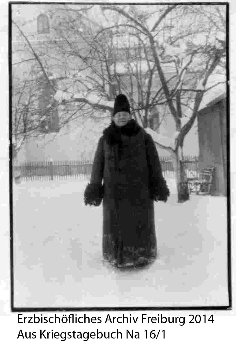 Fridolin Mayer 56 jährig als Missionar in Rumänien