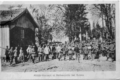 """Militärkonzert"" - Ausschnitt aus Zeitung in EAF Na 16/2."