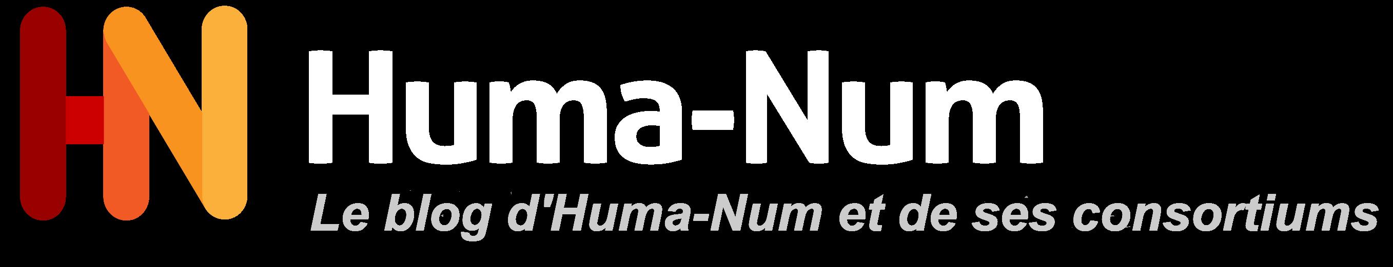 Le blog d'Huma-Num et de ses consortiums