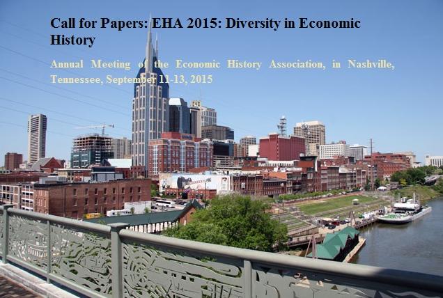 Economic History Association 2015 Annual Meeting