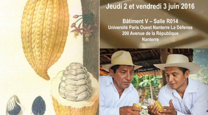 """De la """"Boisson des Dieux"""" aux Salons du chocolat : variations sur le cacao américain"""