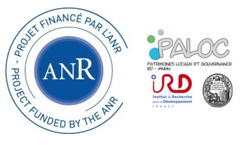Financement ANR Programme CULT 2013