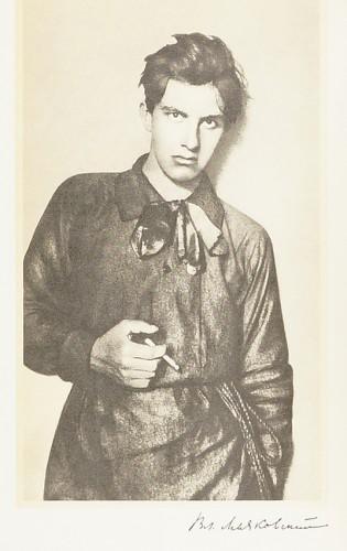 Portrait de Vladimir Maïakovski