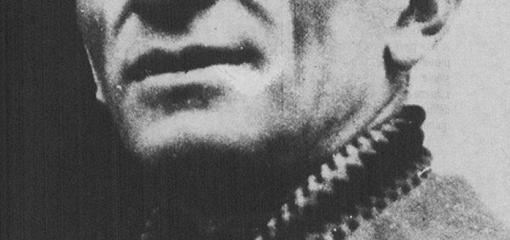 Panaït Istrati (1884-1935) Reproduction d'une photographie extraite du numéro 19 des Cahiers Panaït Istrati.  Origine inconnue