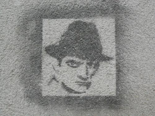 Street-art entre Lyon et Sainté - Rive-de-Gier, janvier 2014
