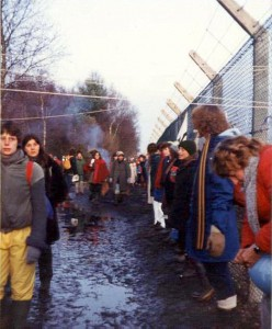 Embrace the Base source: http://en.wikipedia.org/wiki/Greenham_Common_Women%27s_Peace_Camp