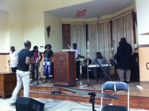 Répétition au Temple protestant (photo KB)