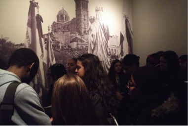Visite du musée d'art religieux de Notre-Dame-de-la-Garde. Lycée Victor Hugo, classe de Seconde.