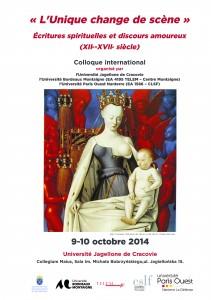 Affiche colloque Cracovie (9-10 oct.14)