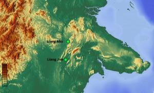 Fieldwork location in East Kalimantan