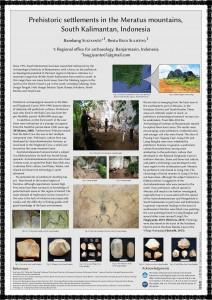 EurASEAA poster on Meratus surveys