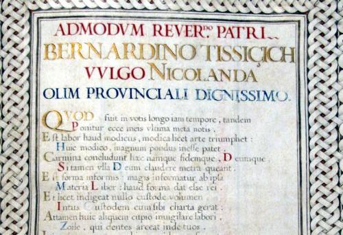 Razmilović, a Latin elegy