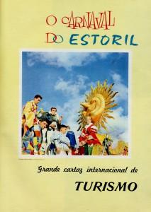 """Carro alegórico transportando o Rei do Carnaval de 1959, Maurice Chevallier. Publicado na """"Revista Turismo (Jan./ Março), 1959, p. 61. Coleção Biblioteca Celestino Domingues"""