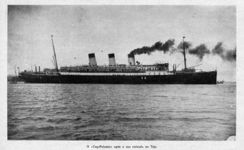 Figura 1 – Cap Polonio. (9 de Março de 1922). Revista ABC, p. 16-19. Coleção Biblioteca Celestino Domingues.