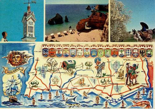 Figura 1 - Algarve. Coleção Biblioteca Celestino Domingues