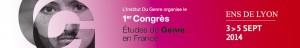 Congrès études genre