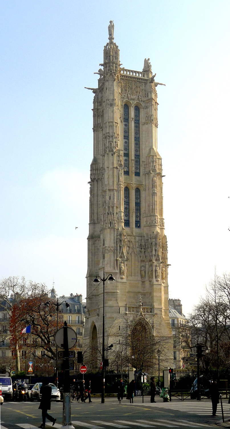 Tour Saint-Jacques By Mbzt - Own work, CC BY-SA 3.0, https://commons.wikimedia.org/w/index.php?curid=13420602